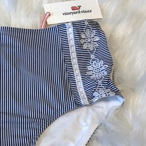 Vineyard Vines High Waist Sandbar Stripe Bikini 👙